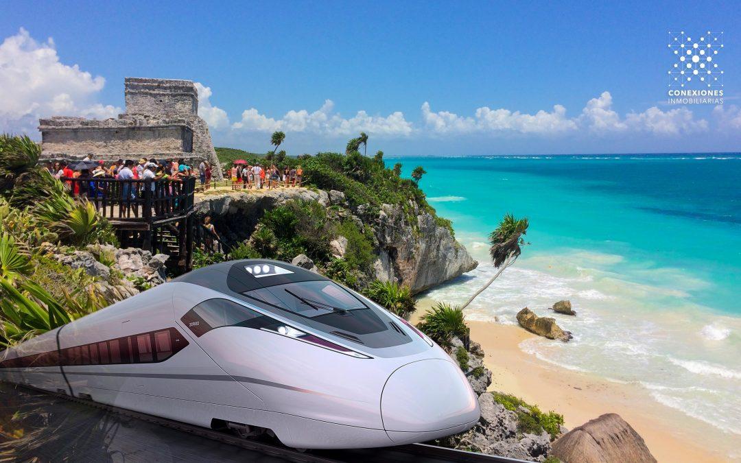 Confirman construcción del tren rápido entre Cancún y Palenque