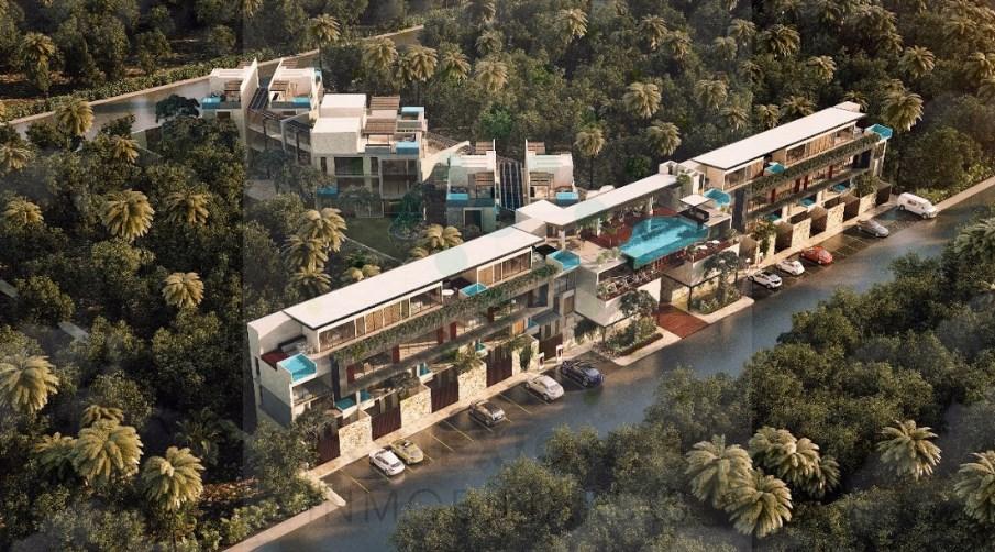 Para inversión en venta apartamento tipo studio en La Veleta – Tulum