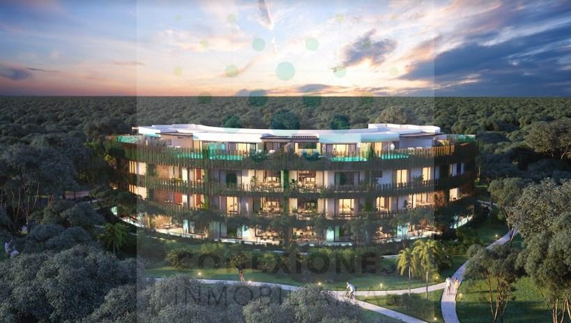 Venta de departamentos en hermoso condominio en Aldea Zama, Tulum