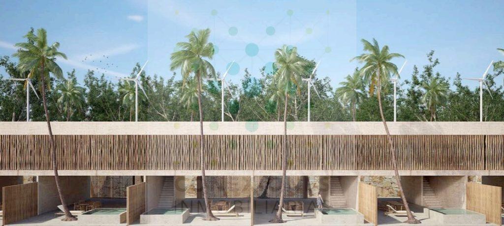 Proyecto residencial de seis hermosas casas en venta  en La Veleta – Tulum