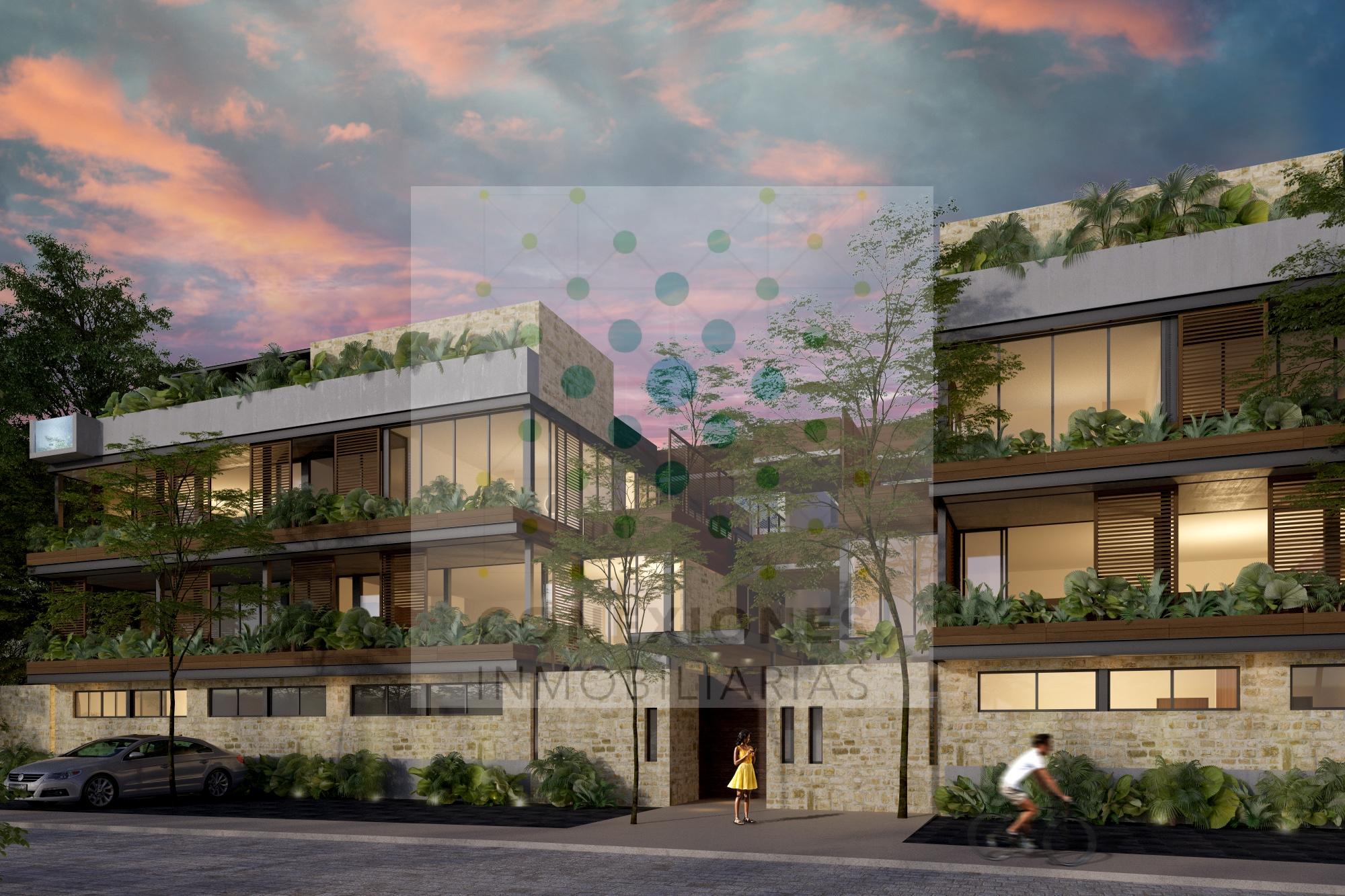 """Exclusivos departamentos en condominio en zona """"La privada"""" de Aldea Zama, Tulum"""