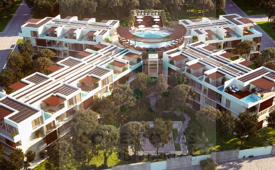Apartamentos en elegante desarrollo en La Veleta con gran plusvalia – Tulum