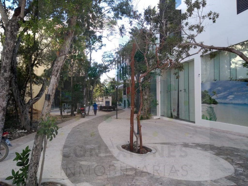 Mixed lots on 3 levels on the Pedestrian Walk in Aldea Zama – Tulum