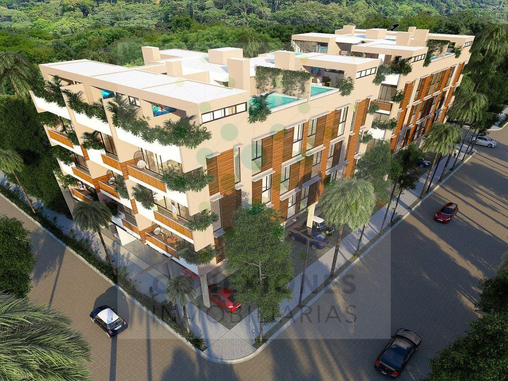 En venta departamentos en moderno desarrollo dentro de Aldea Zama – Tulum