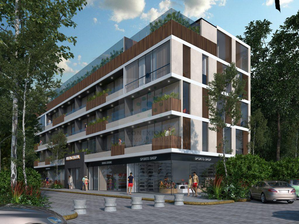 Encantador Pent-house boutique en venta en Aldea Zama – Tulum