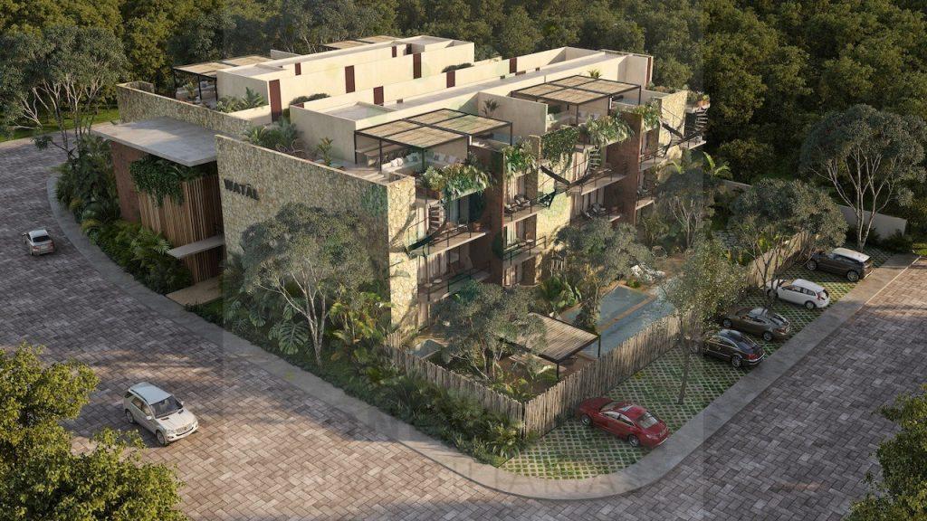 Exclusive condominium apartments in Aldea Zama, Tulum