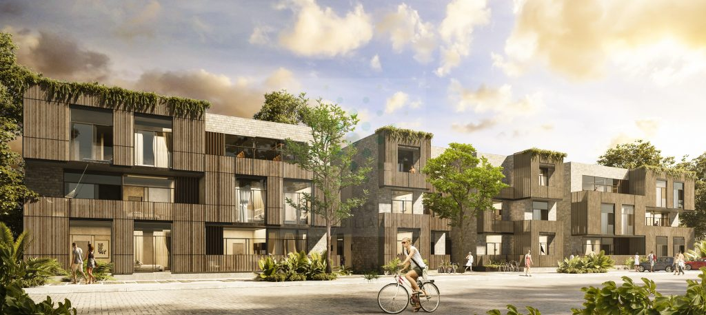 Sale of apartment in project eco-frienly in Aldea Zama – Tulum