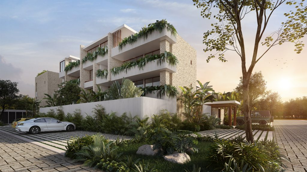 Apartamento en venta en la armonía de Aldea Zama – Tulum