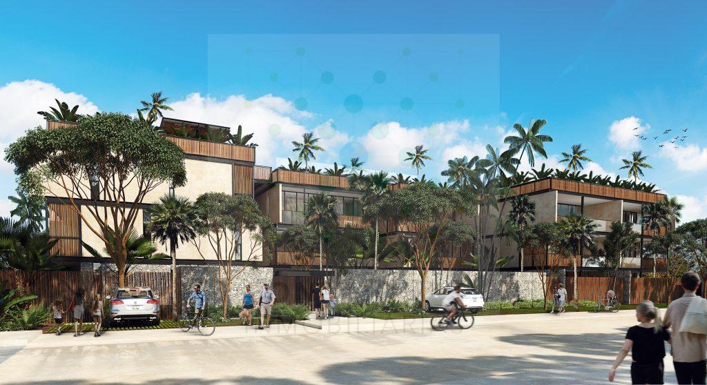 Venta de apartamentos en desarrollo eco-chic de Aldea Zama – Tulum