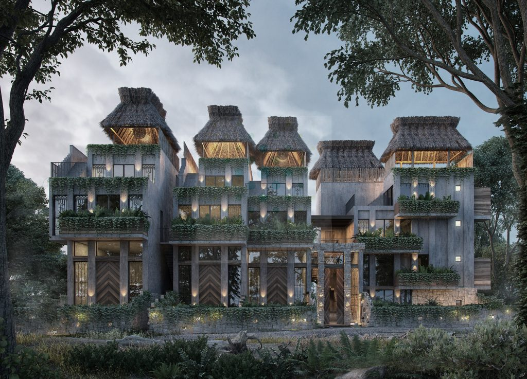Venta de apartamentos en lujoso condo dentro de exclusiva comunidad Zama – Tulum