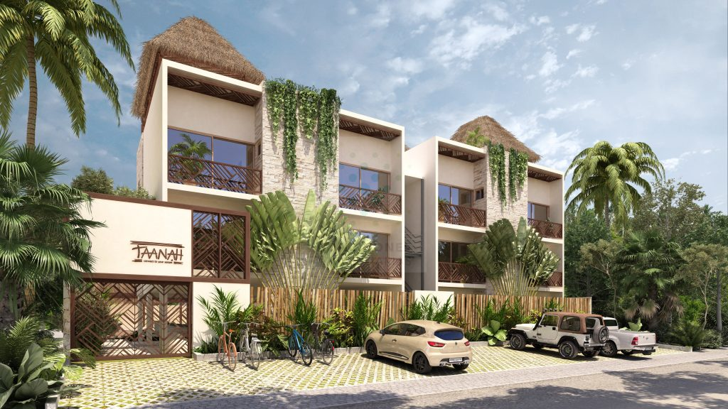 Pre-venta de acogedores apartamentos en condominio – Tulum
