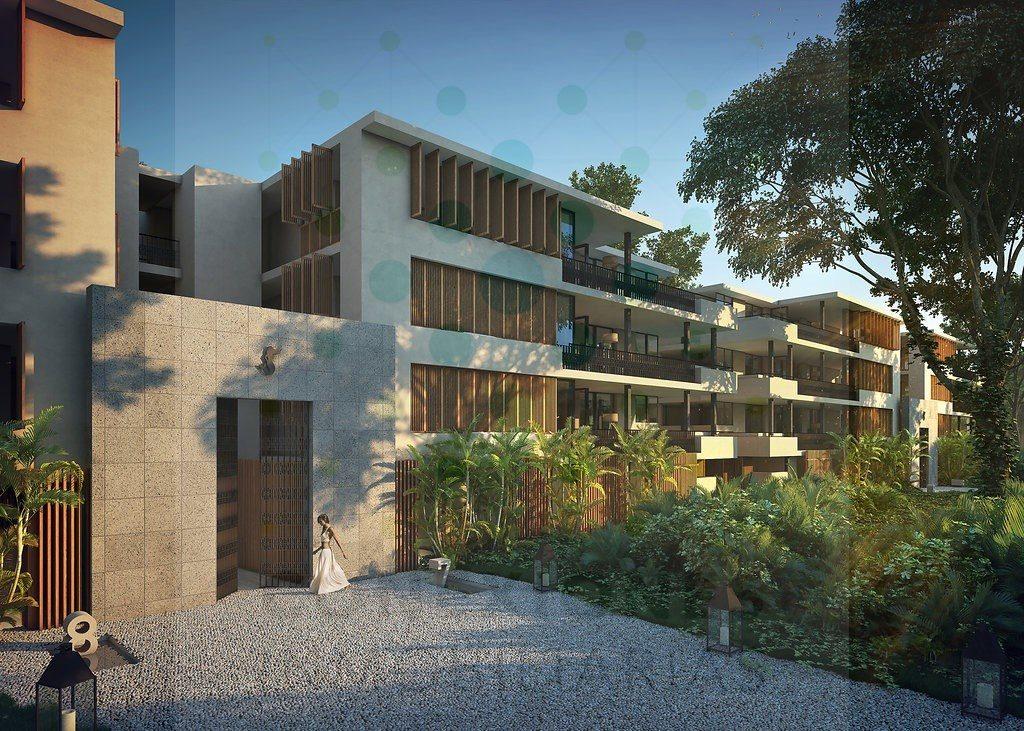 Elegante departamento en exclusivo condominio Aldea Zama – Tulum
