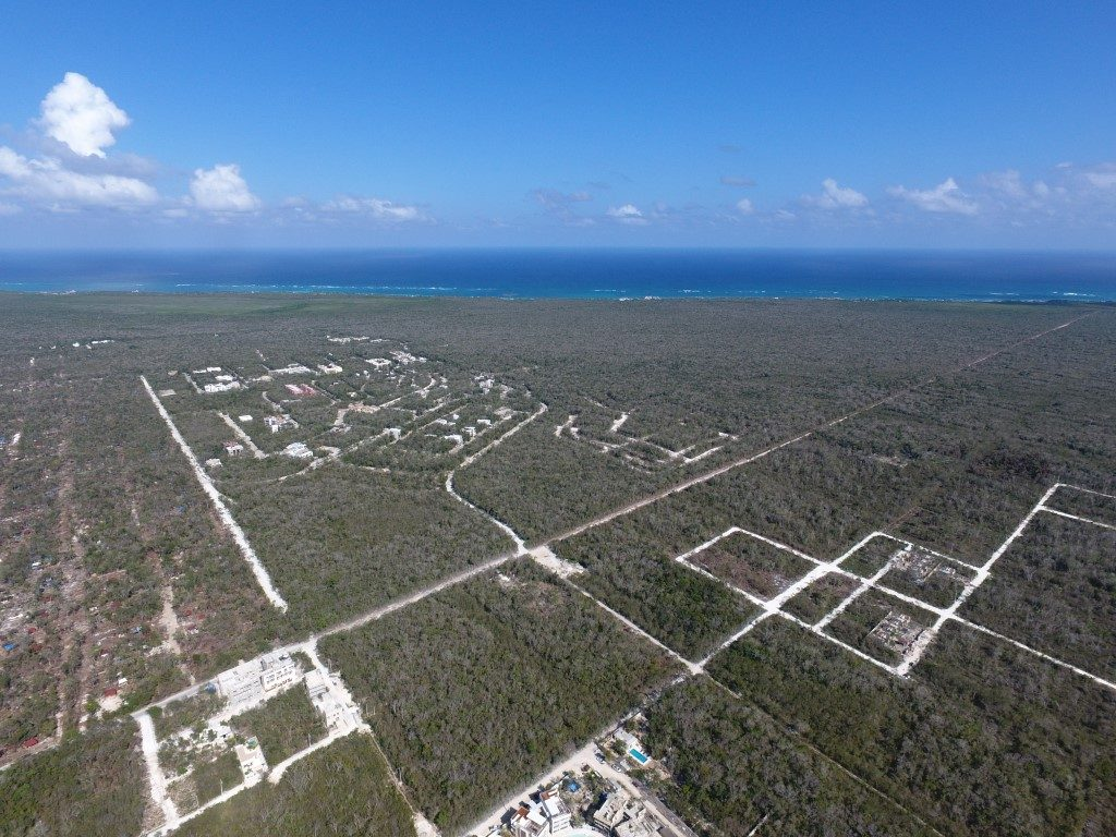 Lot for sale in Region 15, area of great growth and surplus value – Tulum