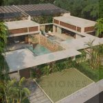 Luxury villas in Region 15 of Tulum immediate delivery