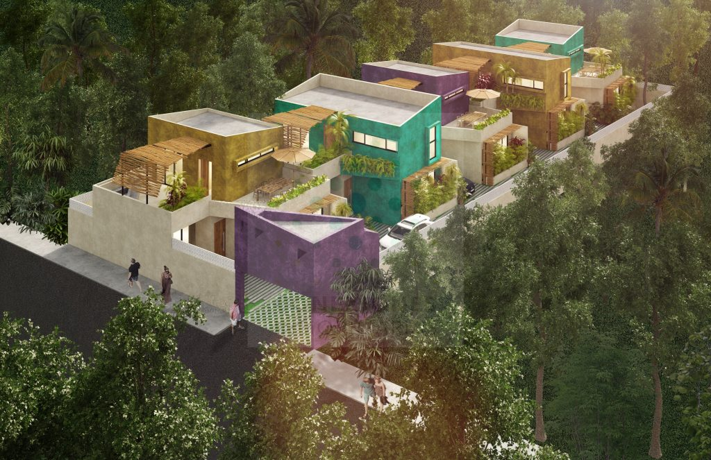Hermosa casa en exclusivo desarrollo en La Veleta, Tulum.