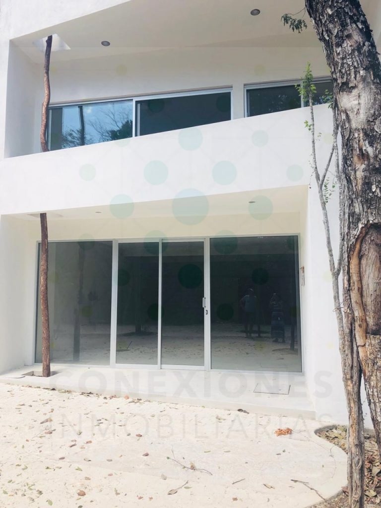 Rental of commercial premises within Aldea Zama Tulum.