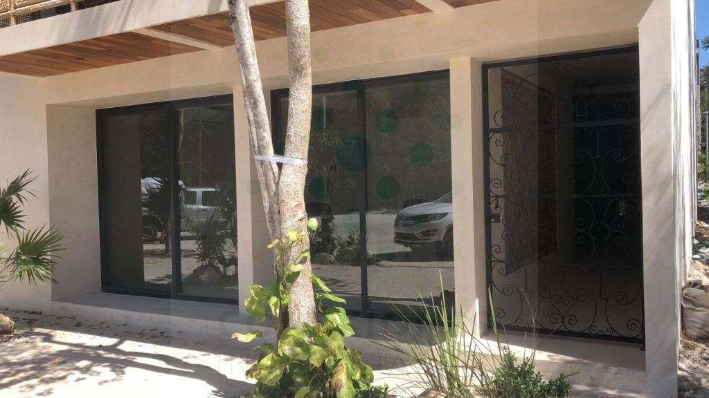 Rental of commercial premises in Aldea Zama on main avenue – Tulum