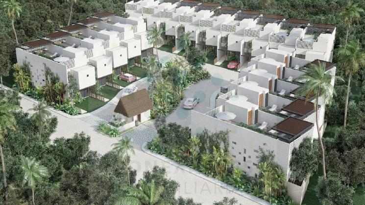 Casas condominales en venta la exclusiva ciudad de Tulum
