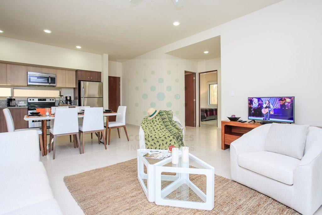 Oportunidad, renta de apartamento dentro de la exclusiva Aldea Zama – Tulum