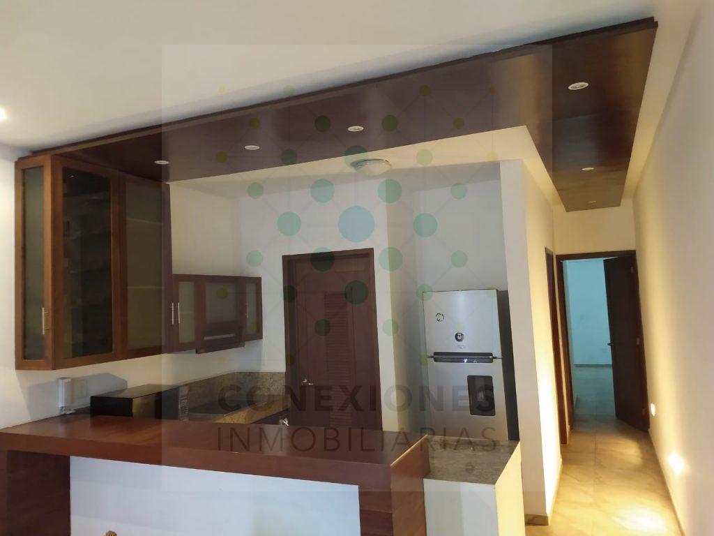 Ofrecemos la renta de este hermoso apartamento en la exclusiva Aldea Zama, Tulum.